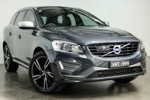 2016 Volvo XC60 DZ MY17 T5 Geartronic AWD Luxury Grey 8 Speed Sports Automatic Wagon South Melbourne Port Phillip Preview