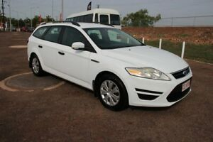 2010 Ford Mondeo MB MY11 LX PwrShift TDCi White 6 Speed Auto Wagon The Gardens Darwin City Preview