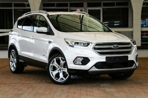 2018 Ford Escape ZG 2018.00MY Titanium PwrShift AWD White 6 Speed Sports Automatic Dual Clutch Wagon Melville Melville Area Preview