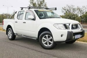 2013 Nissan Navara D40 S6 MY12 ST Polar White 6 Speed Manual Utility Clarkson Wanneroo Area Preview
