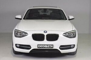 2011 BMW 118d F20 White 8 Speed Sports Automatic Hatchback Wadalba Wyong Area Preview