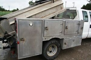 Aluminum Utility Body with Dump Bed for PickUp Truck Sarnia Sarnia Area image 3