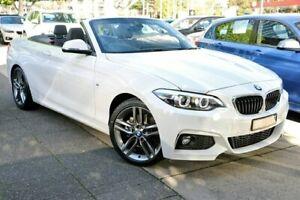 2018 BMW 220i F23 LCI M Sport White Sports Automatic