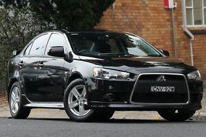 2014 Mitsubishi Lancer CJ MY14.5 ES Sport Black 5 Speed Manual Sedan Mosman Mosman Area Preview