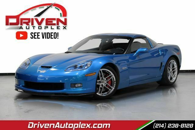 2008 Blue Chevrolet Corvette Z06  | C6 Corvette Photo 1