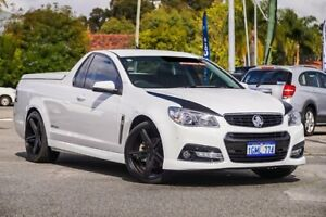 2015 Holden Ute VF MY15 SS Ute Storm White 6 Speed Sports Automatic Utility Maddington Gosnells Area Preview