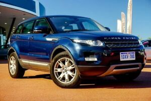 2012 Land Rover Range Rover Evoque L538 MY13 SD4 CommandShift Pure Blue 6 Speed Sports Automatic Wangara Wanneroo Area Preview