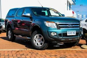 2015 Ford Ranger PX XLT Double Cab Blue 6 Speed Sports Automatic Utility Rockingham Rockingham Area Preview