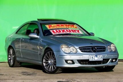 2005 Mercedes-Benz CLK350 C209 MY06 Elegance Silver 7 Speed Sports Automatic Coupe Ringwood East Maroondah Area Preview