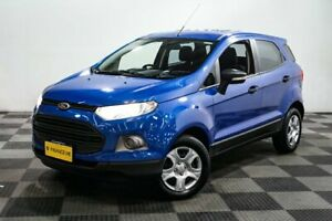 2014 Ford Ecosport BK Ambiente PwrShift Blue 6 Speed Sports Automatic Dual Clutch Wagon