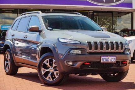 2014 Jeep Cherokee KL Trailhawk Grey 9 Speed Sports Automatic Wagon