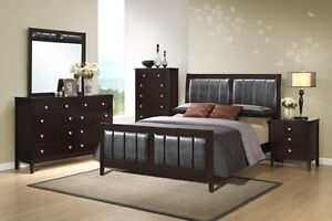 all hardwood 8 pcs bedset now 50% off
