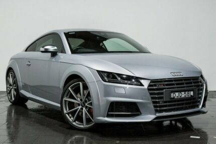 2016 Audi TT FV MY16 S S tronic quattro Silver 6 Speed Sports Automatic Dual Clutch Coupe