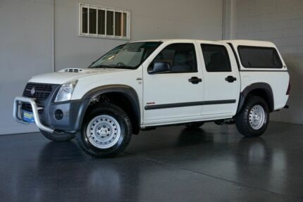 2007 Holden Rodeo RA MY07 LX (4x4) White 5 Speed Manual Crew Cab P/Up