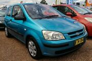 2003 Hyundai Getz TB GL Blue 5 Speed Manual Hatchback Colyton Penrith Area Preview