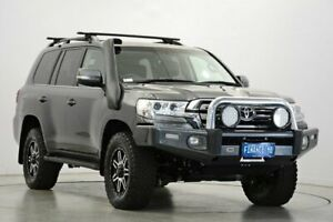 2017 Toyota Landcruiser VDJ200R VX Grey 6 Speed Sports Automatic Wagon