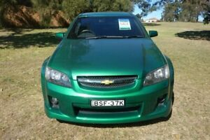 2010 Holden Ute VE MY10 SS Green 6 Speed Manual Utility East Maitland Maitland Area Preview