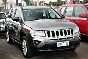 2012 Jeep Compass MK MY12 Sport CVT Auto Stick Grey 6 Speed Constant Variable Wagon Cheltenham Kingston Area Preview