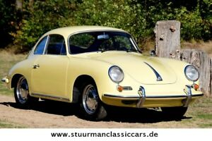 Porsche 356 C Coupe Matching Numbers Champagnergelb