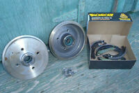 Rear Drum Brakes for a 85-92 VW Jetta