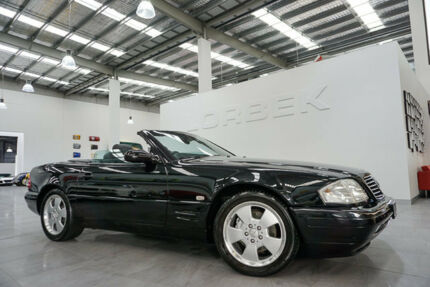 1998 Mercedes-Benz SL280 R129 Black 4 Speed Automatic Convertible