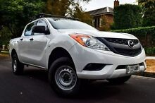 2012 Mazda BT-50 UP0YF1 XT White 6 Speed Sports Automatic Utility Medindie Walkerville Area Preview