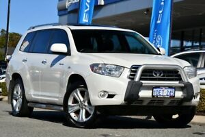 2009 Toyota Kluger GSU45R Grande AWD White 5 Speed Sports Automatic Wagon Melville Melville Area Preview