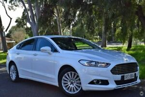 2016 Ford Mondeo MD Trend SelectShift White 6 Speed Sports Automatic Hatchback St Marys Mitcham Area Preview
