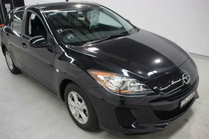 2012 Mazda 3 BL10F2 Neo Black 6 Speed Manual Hatchback Maryville Newcastle Area Preview