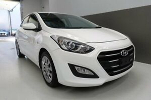 2016 Hyundai i30 GD4 Series II MY17 Active White 6 Speed Sports Automatic Hatchback Berrimah Darwin City Preview