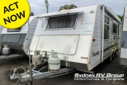 CU1187 Roadstar Vacationer Great Layout With Storage Space!! Penrith Penrith Area Preview