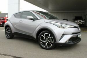 2017 Toyota C-HR NGX10R Koba (2WD) Shadow Platinum Continuous Variable Wagon Belmore Canterbury Area Preview