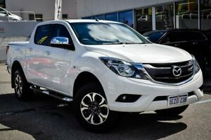 2016 Mazda BT-50 UR0YF1 XTR Freestyle White 6 Speed Sports Automatic Utility Myaree Melville Area Preview