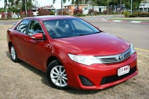 2013 Toyota Camry ASV50R Altise Red 6 Speed Sports Automatic Sedan Townsville Townsville City Preview