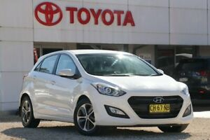 2016 Hyundai i30 GD4 Series II MY17 Active X DCT White 7 Speed Sports Automatic Dual Clutch Wyong Wyong Area Preview