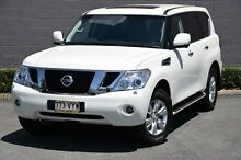 2013 Nissan Patrol Y62 TI-L White 7 Speed Auto Seq Sportshift Wagon Southport Gold Coast City Preview