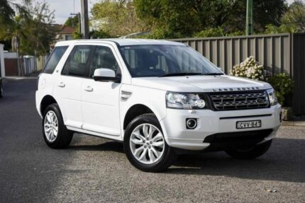 2013 Land Rover Freelander 2 LF MY14 TD4 CommandShift SE White 6 Speed Sports Automatic Wagon Greenacre Bankstown Area Preview
