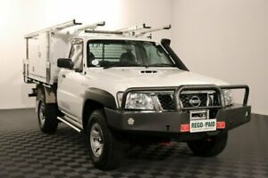 2015 Nissan Patrol Y61 Series 5 MY15 DX Cloud 5 Speed Manual Cab Chassis Acacia Ridge Brisbane South West Preview