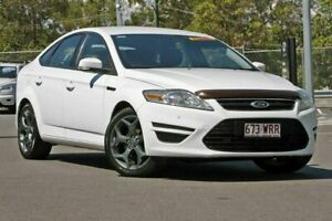 2012 Ford Mondeo MC LX PwrShift TDCi White 6 Speed Sports Automatic Dual Clutch Hatchback Hillcrest Logan Area Preview