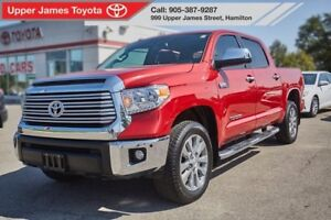 2016 Toyota Tundra Crewmax Limited 4x4 = Loaded!!