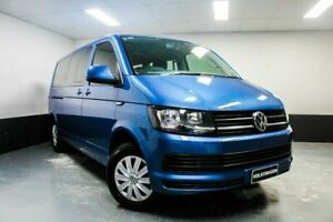 2016 Volkswagen Caravelle T6 MY16 TDI340 LWB DSG Blue 7 Speed Sports Automatic Dual Clutch Wagon Hamilton East Newcastle Area Preview