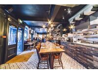 CDP Required for busy Kentish Town gastro pub - £9 p/h plus service