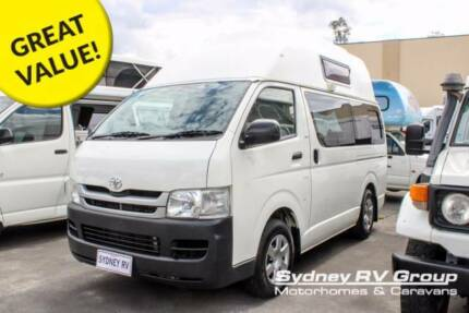 U3625 Toyota Hiace Talvor High Top 3 Berth Campervan