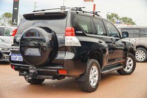 2010 Toyota Landcruiser Prado KDJ150R GXL Black 5 Speed Sports Automatic Wagon