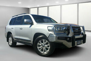 2015 Toyota Landcruiser VDJ200R MY16 Sahara (4x4) Silver Pearl 6 Speed Automatic Wagon Dalby Dalby Area Preview