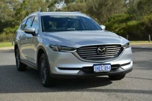 2019 Mazda CX-8 KG2W2A Sport SKYACTIV-Drive FWD Silver 6 Speed Sports Automatic Wagon Cannington Canning Area Preview