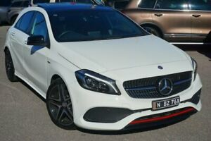 2017 Mercedes-Benz A250 W176 807MY Sport D-CT 4MATIC White 7 Speed Sports Automatic Dual Clutch Phillip Woden Valley Preview