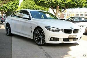 2018 BMW 430i F36 LCI M Sport Gran Coupe White 8 Speed Sports Automatic Hatchback South Melbourne Port Phillip Preview