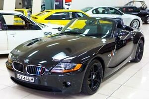 2003 BMW Z4 E85 2.5I Black 5 Speed Manual Roadster Carss Park Kogarah Area Preview