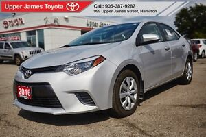 2016 Toyota Corolla LE - Toyota Certified Used Vehicle